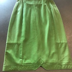 Green Escada Skirt